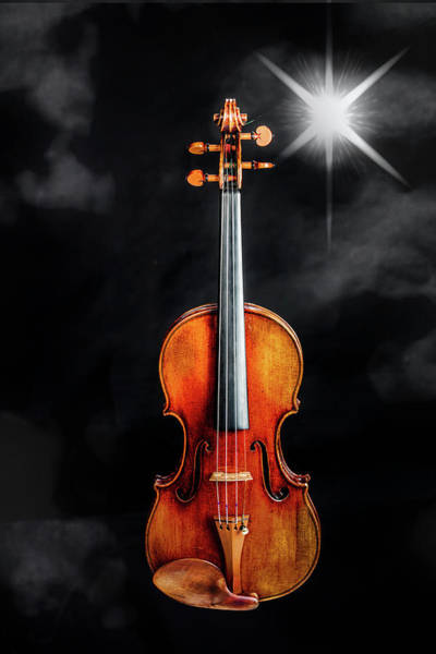 Photograph - 129 .1841 Violin By Jean Baptiste Vuillaume by M K Miller