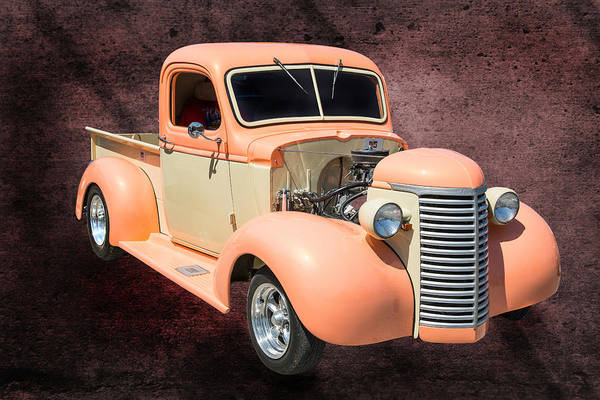 Photograph - 1939 Chevrolet Pickup Vintage Car Fine Art Prints Photograph Ant by M K Miller