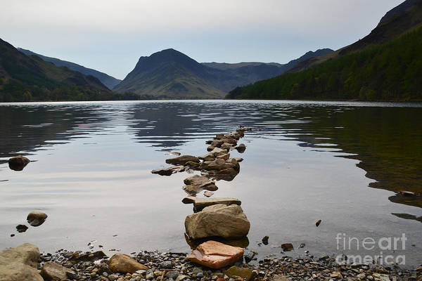 District Wall Art - Photograph - Buttermere by Smart Aviation