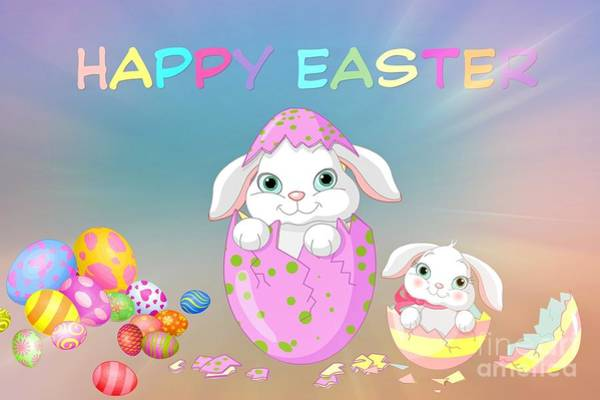 Ostern Wall Art - Digital Art - Easter by Frederick Holiday