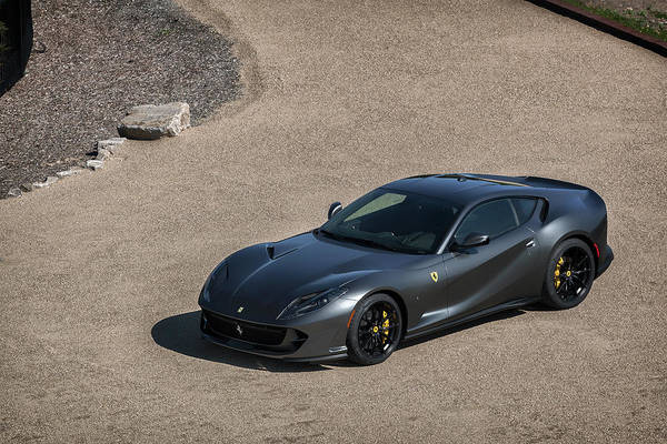 Photograph - #ferrari #812superfast #print by ItzKirb Photography
