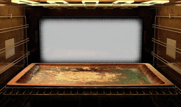 Wall Art - Digital Art - Inside The Oven by Allan Swart