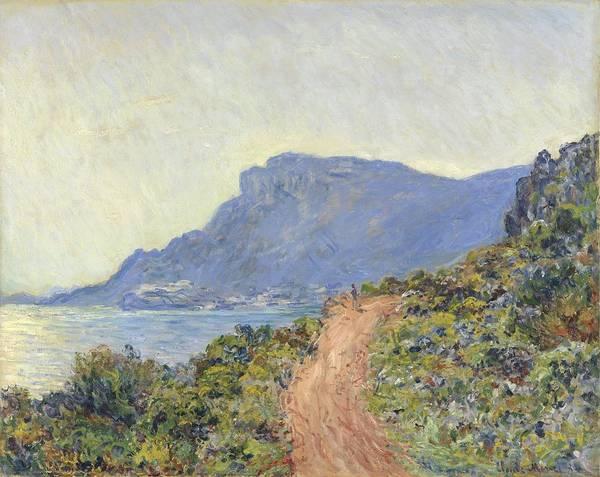 Painting - La Corniche Near Monaco by Claude Monet
