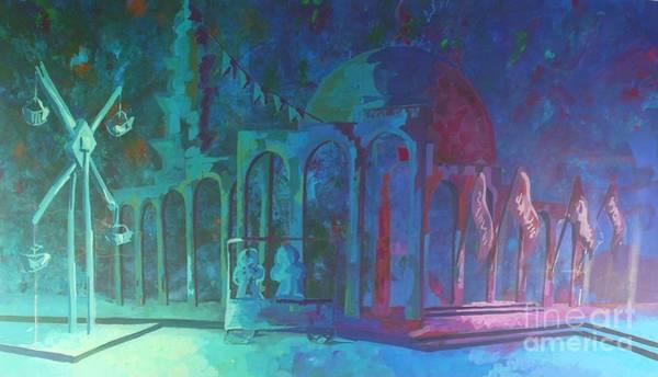 Rain Song Painting - Landscape by Antique Art