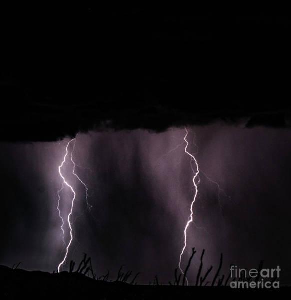 Lightning Art Print