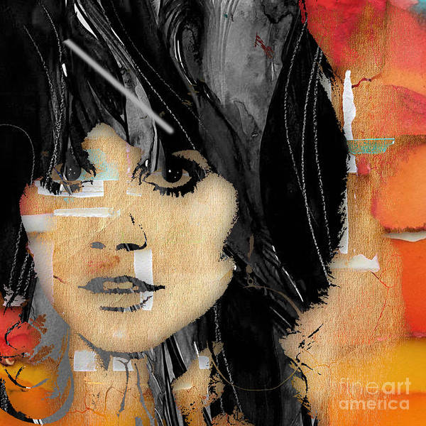 Wall Art - Mixed Media - Linda Ronstadt Collection by Marvin Blaine