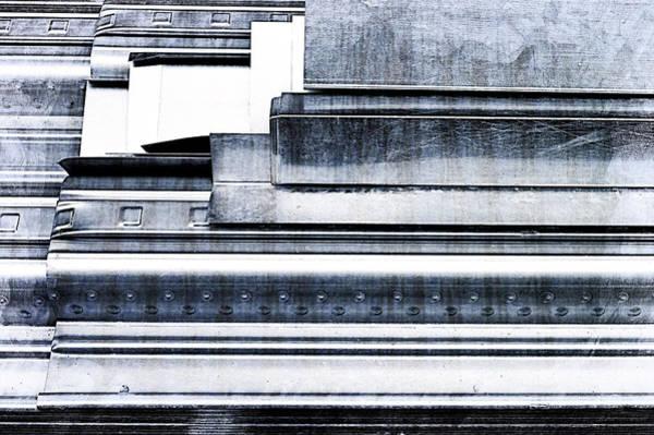 Pattern Wall Art - Photograph - Metal Bars by Tom Gowanlock