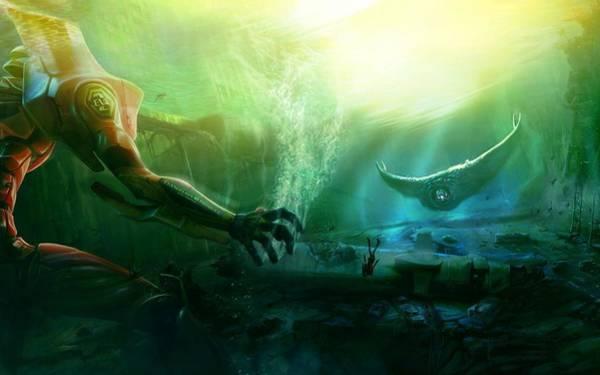 Fantasy Digital Art - Neon Genesis Evangelion by Super Lovely