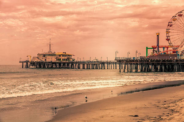Photograph - Santa Monica Pier Collection- 16/36 by Gene Parks