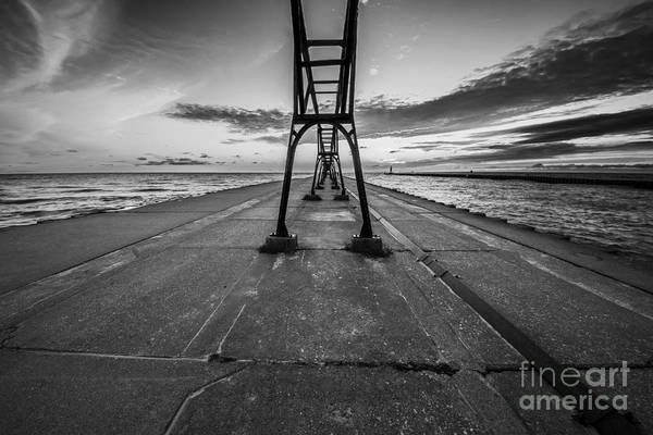 South Haven Wall Art - Photograph - South Haven Light by Twenty Two North Photography