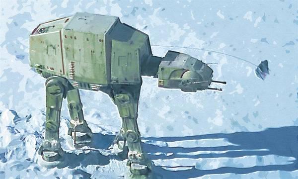 R2-d2 Digital Art - Star Wars On Poster by Larry Jones