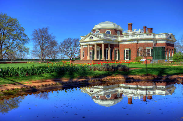 Wall Art - Photograph - Thomas Jefferson's Monticello by Craig Fildes