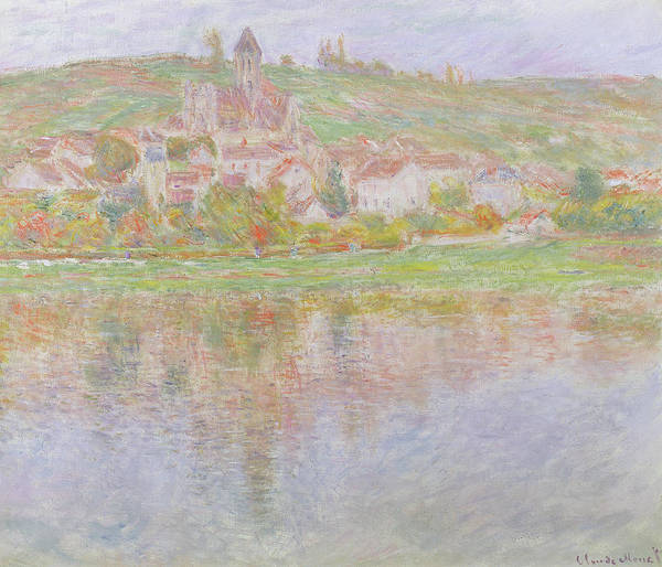 1879 Painting - Vetheuil by Claude Monet