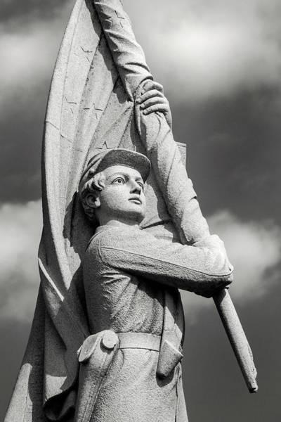 Photograph - 132rd Pa Monument -- Antietam by Don Johnson