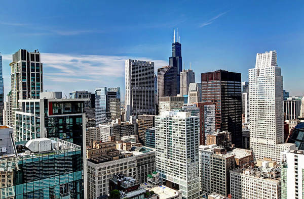 Wall Art - Photograph - 1336 Chicago City View by Steve Sturgill