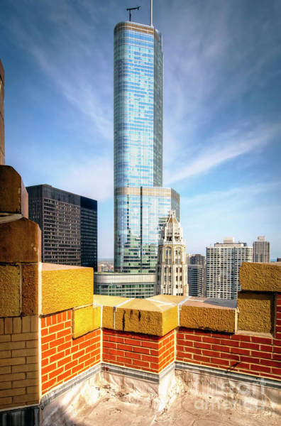 Wall Art - Photograph - 1339 Roof Top Viewing by Steve Sturgill