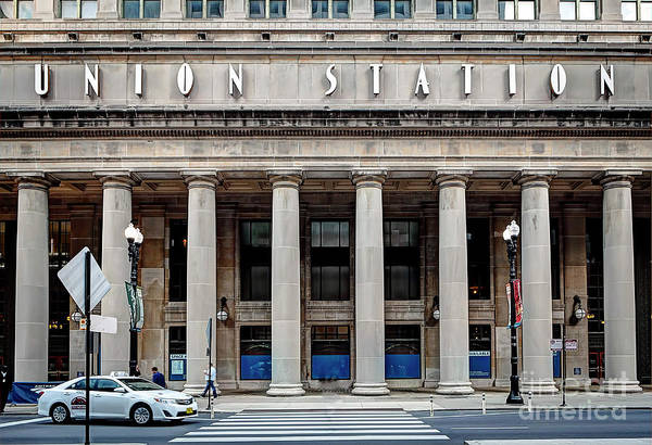 Wall Art - Photograph - 1357 Union Station by Steve Sturgill