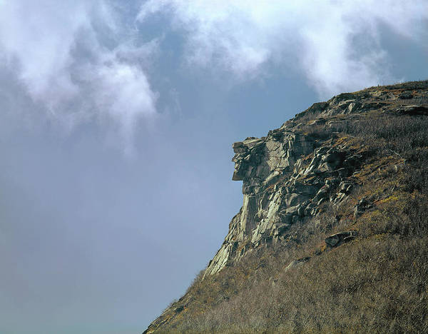 Photograph - 135701 Old Man Of The Mountain Nh by Ed Cooper Photography