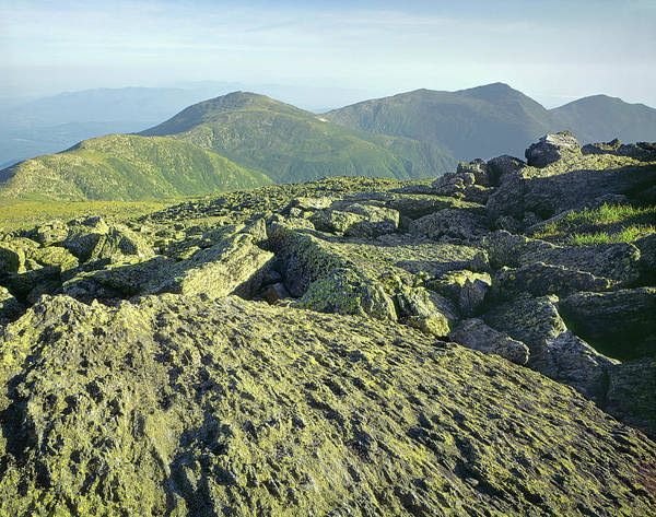 Photograph - 135706 View From Mt. Washington Nh by Ed Cooper Photography