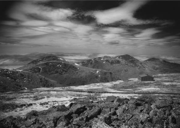 Photograph - 135764 Presidential Range Nh Infrared by Ed Cooper Photography