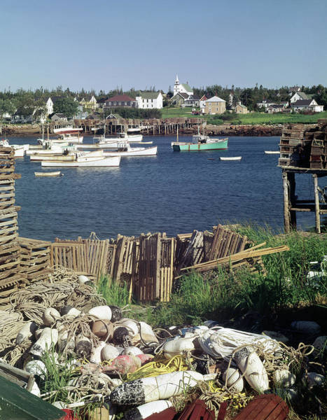 Photograph - 136238-v Corea Fishing Village  by Ed Cooper Photography