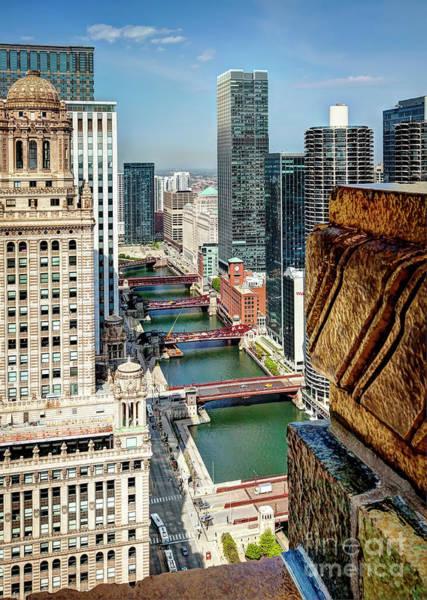 Wall Art - Photograph - 1364 Chicago Bridges by Steve Sturgill