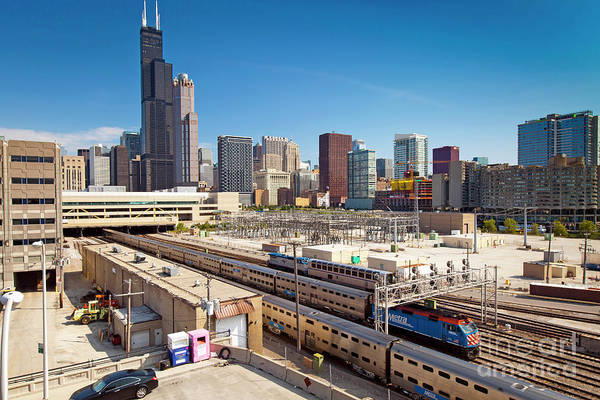 Wall Art - Photograph - 1396 Chicago Skyline by Steve Sturgill
