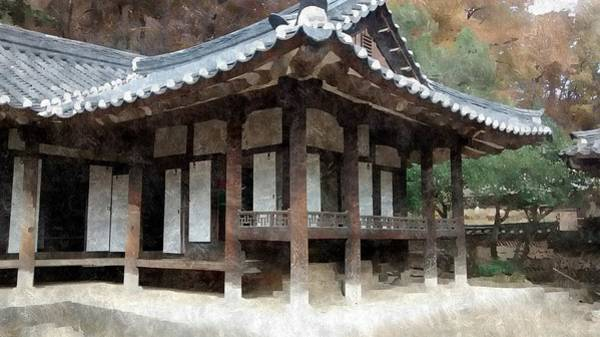 Photograph - 13th Century Korean Home by Bill Hamilton