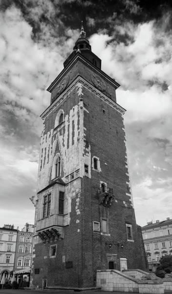 Wall Art - Photograph - 13th Century Town Hall Tower Krakow Poland by Steve Gadomski