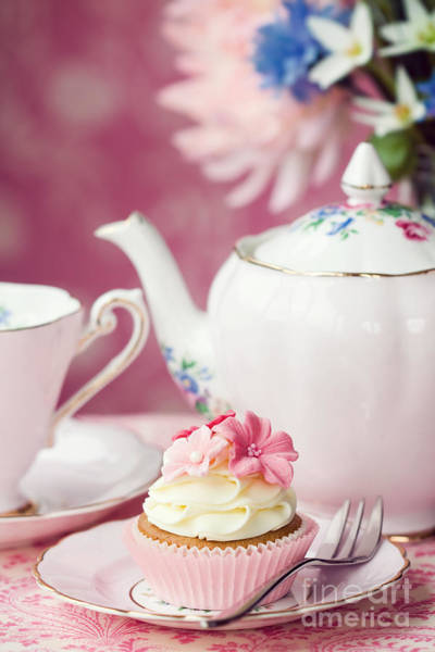 Fairy Cake Wall Art - Photograph - Afternoon Tea by Ruth Black