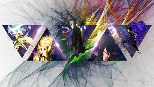 Fractal Digital Art - Anime by Super Lovely