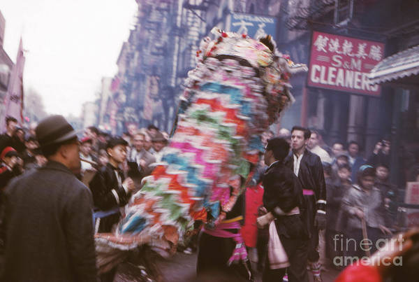 Wall Art - Photograph - Chinese New Year 1963 by The Harrington Collection