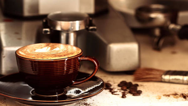 Food And Beverage Digital Art - Coffee by Super Lovely