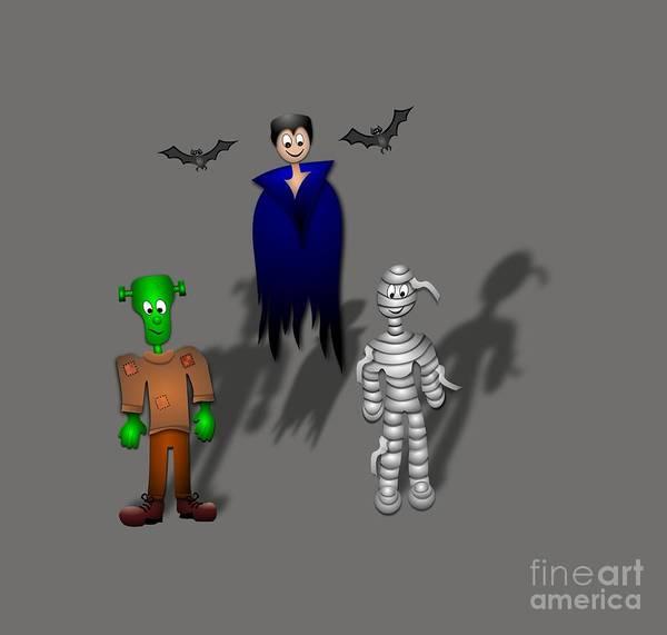 Satanism Digital Art - Halloween by Frederick Holiday