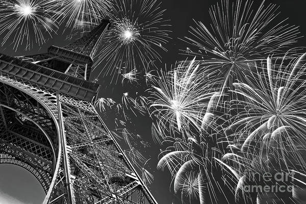 New Years Day Photograph - 14 Juillet by Delphimages Photo Creations