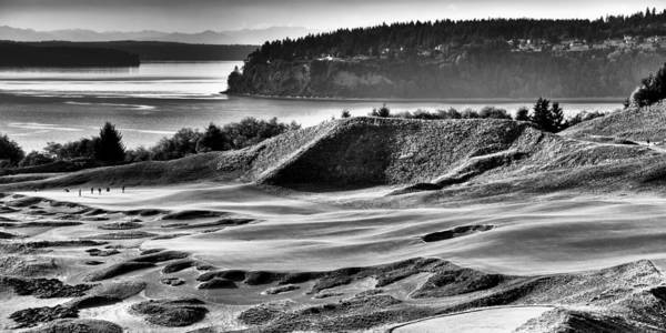 Wall Art - Photograph - #14 Panorama - Chambers Bay Golf Course by David Patterson