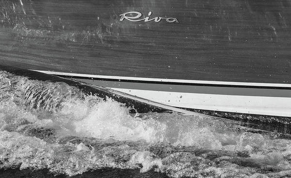 Photograph - Riva Wake by Steven Lapkin