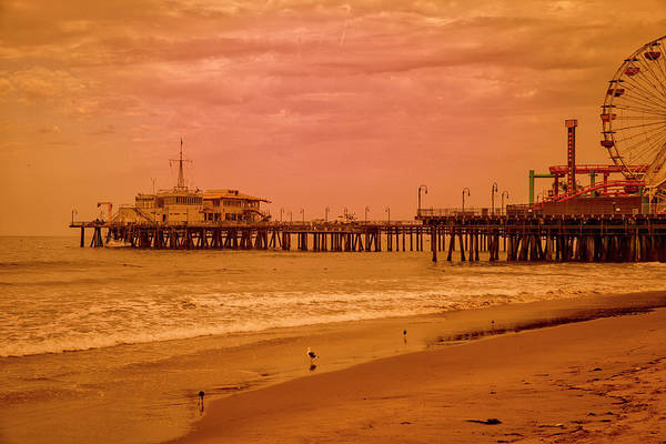Photograph - Santa Monica Pier Collection-17/36 by Gene Parks