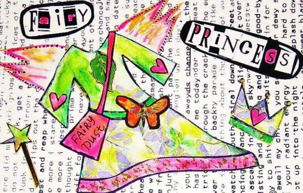 Painting - Fairy Princess by Sandra Silberzweig