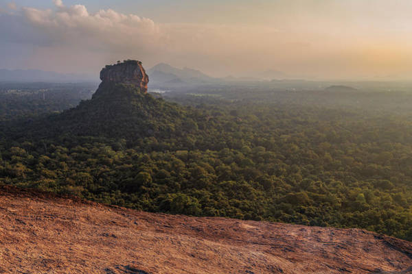 Mountain Lion Photograph - Sigiriya - Sri Lanka by Joana Kruse