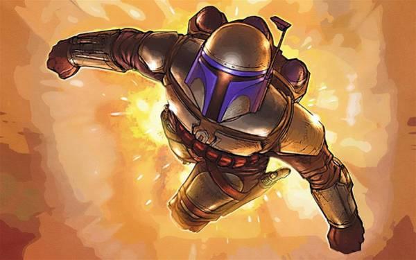 Star Wars Episode 3 Wall Art - Digital Art - Star Wars On Poster by Larry Jones