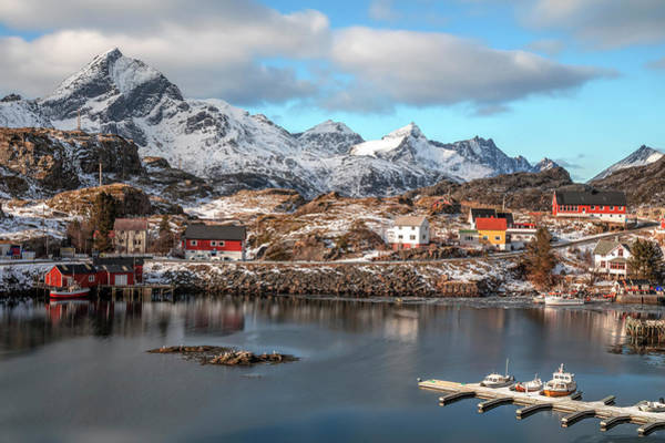 Wall Art - Photograph - Sund, Lofoten - Norway by Joana Kruse