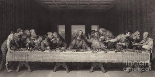 Painting - The Last Supper  by Leonardo Da Vinci