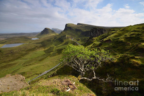 Isle Of Skye Photograph - The Quiraing by Smart Aviation