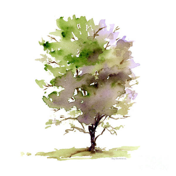Painting - #14 Tree by Amy Kirkpatrick