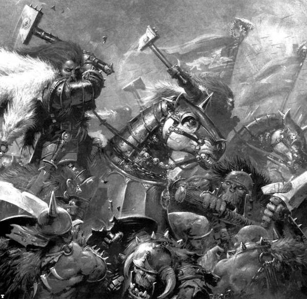 Wall Art - Digital Art - Warhammer by Mery Moon