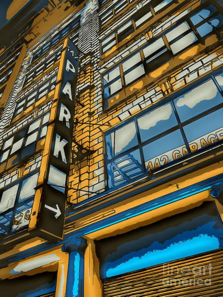 Deck Digital Art - 142 Park by Dan Stone