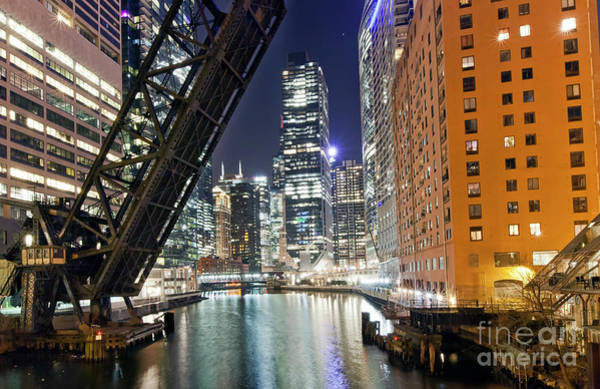 Wall Art - Photograph - 1435 North Branch At Night by Steve Sturgill