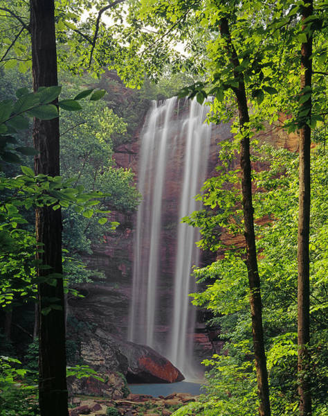Photograph - 148115-toccoa Falls, Ga by Ed Cooper Photography