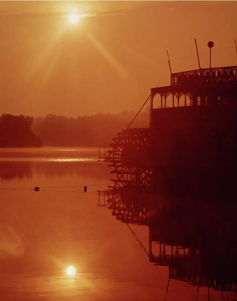 Photograph - 148223 Mississippi River Sternwheeler  Ga by Ed Cooper Photography